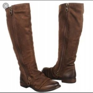 Steve Madden Linderr genuine leather boots